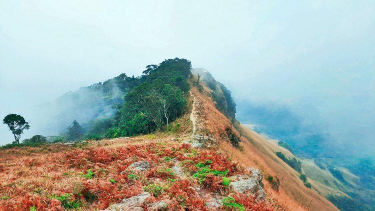 Khung cảnh đỉnh Phia Po đầy màu sắc