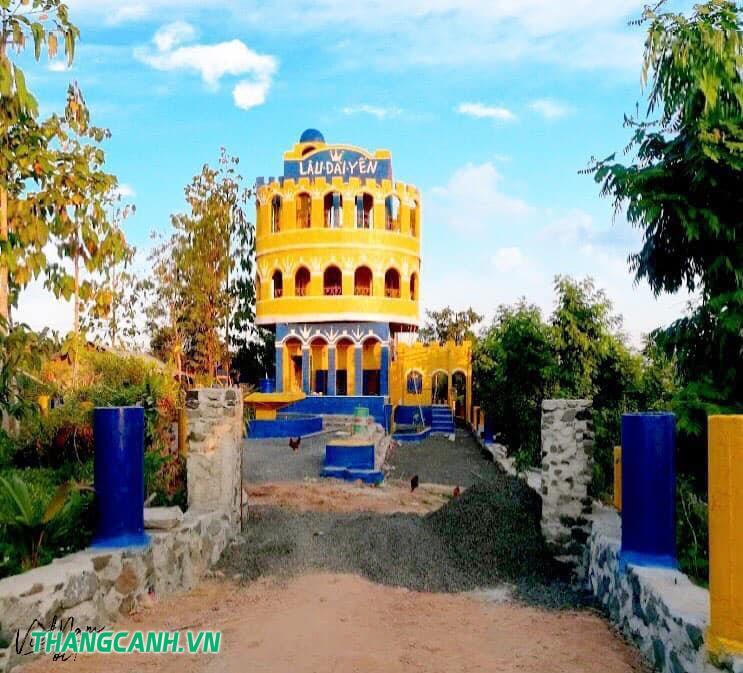 Lâu đài Yến điểm du lịch mới lạ tại Đaklak